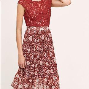 NWT Plenty Tracy Reese Arcadia Midi Lace Dress 0